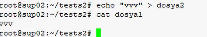 soft link sembolik link nedir